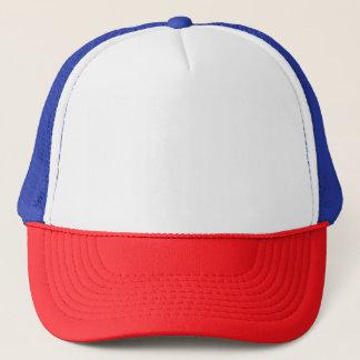 Casquette rouge/blanc/bleu de camionneur