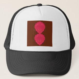 Casquette Rouge-brun arabe d'ornements de luxe