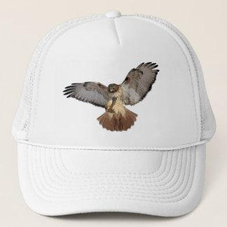 casquette Rouge-coupé la queue de faucon