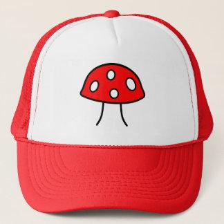 Casquette rouge de champignon