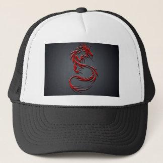 Casquette rouge de dragon