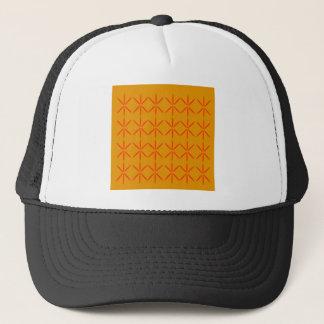 Casquette Rouge de miel d'éléments de conception