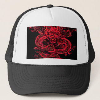 Casquette Rouge épique de dragon