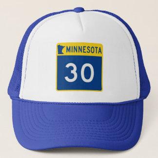 Casquette Route 30 de tronc du Minnesota