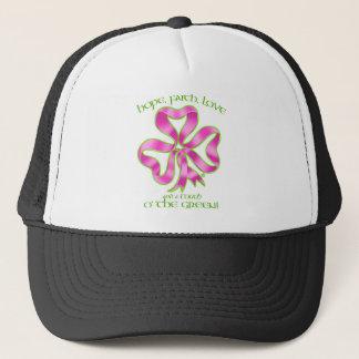 Casquette Ruban d'espoir de cancer du sein