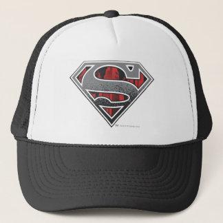 Casquette S-Bouclier logo gris et rouge de   de Superman de