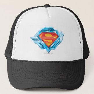 Casquette S-Bouclier logo rouge et bleu de   de Superman en