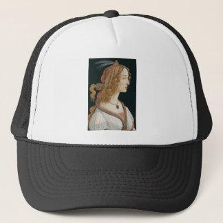 Casquette Sandro Botticelli - portrait idéalisé de Madame