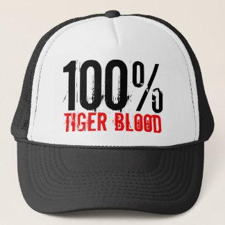 Casquette Sang 100% de tigre