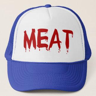 Casquette Sang de viande de vache à chèvre de boeuf de