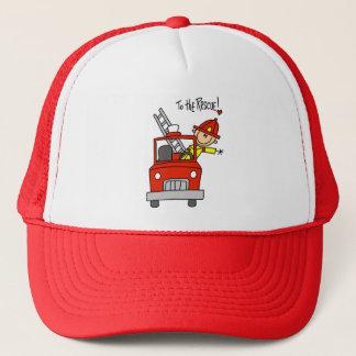 Casquette Sapeur-pompier au T-shirts et aux cadeaux de