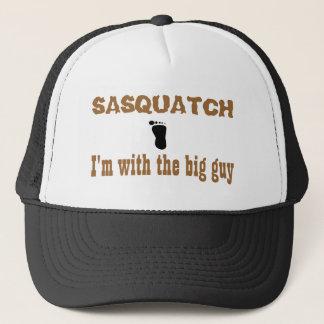 Casquette Sasquatch je suis avec le grand type