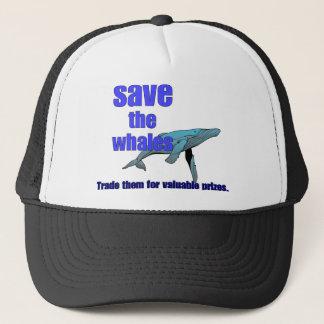 Casquette Sauvez les baleines