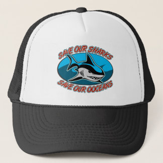 Casquette Sauvez nos requins