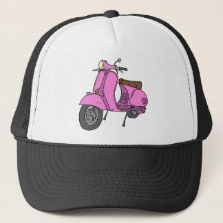 Casquette Scooteur rose