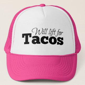 Casquette Se soulèvera pour des tacos