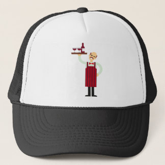 Casquette Serveur de vin