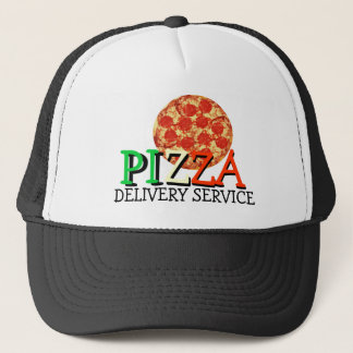 Casquette Service de distribution de pizza