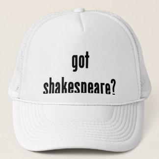 Casquette shakespeare obtenu ?