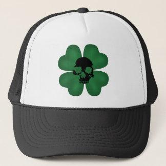 Casquette Shamrock éffrayant de Jour de la Saint Patrick