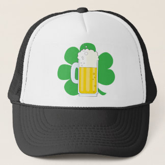 Casquette Shamrock et bière