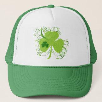 Casquette Shamrock irlandais vert