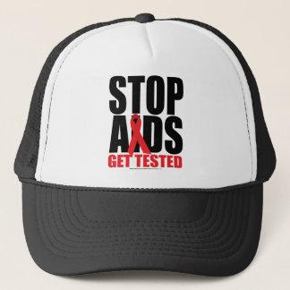 Casquette SIDA d'arrêt : Obtenez examiné