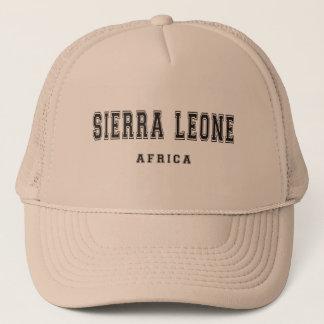 Casquette Sierra Leone Afrique