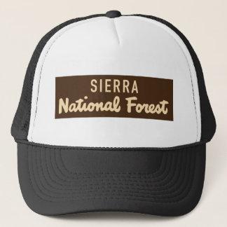 Casquette Sierra réserve forestière