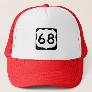 Casquette Signe de l'itinéraire 68 des USA