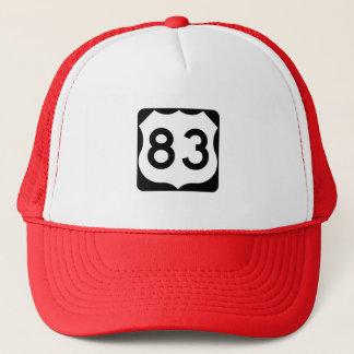 Casquette Signe de l'itinéraire 83 des USA
