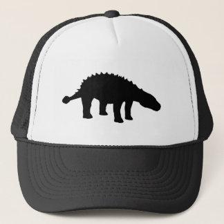 Casquette Silhouette de dinosaure de Dino d'Ankylosaurus