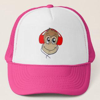 Casquette Singe de casque