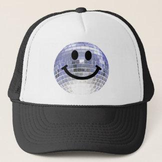 Casquette Smiley de boule de disco