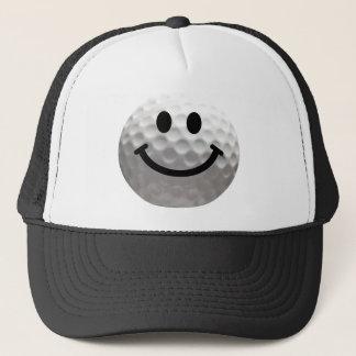 Casquette Smiley de boule de golf