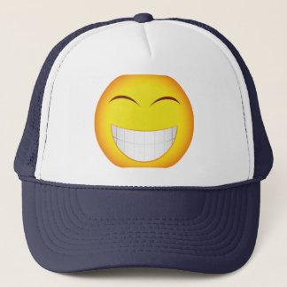 Casquette smiley souriant