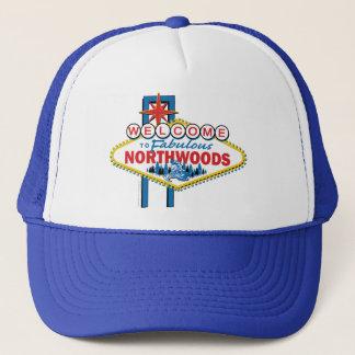 Casquette Snowmobiling/accueil au Northwoods