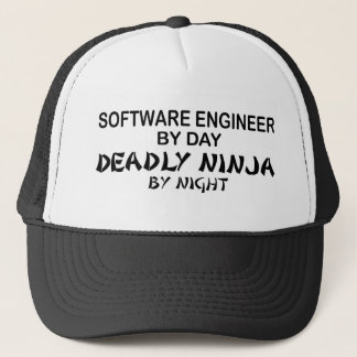 Casquette Software Engineer Ninja mortel