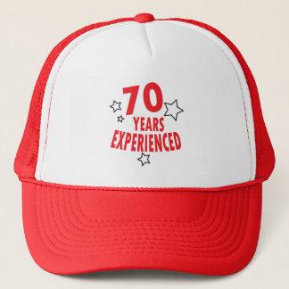 Casquette Soixante-dix ans ont éprouvé le soixante-dixième