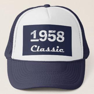 Casquette Soixantième célébration d'anniversaire de 1958