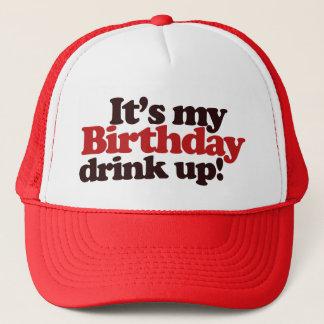 Casquette Son mon anniversaire boivent jusqu'à la dernière