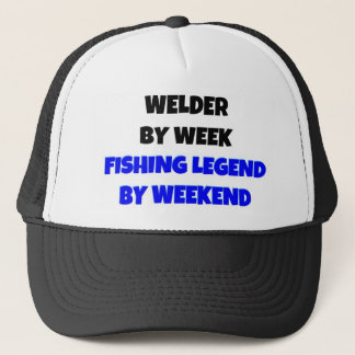 Casquette Soudeuse par légende de pêche de semaine par