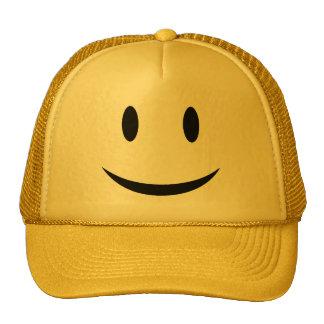 Casquette souriant de visage