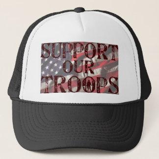 Casquette soutenez notre copie de troupes