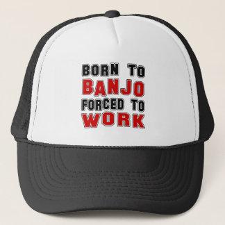 Casquette Soutenu au banjo forcé pour travailler