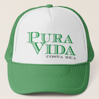 Casquette Souvenir vert de Pura Vida Costa Rica