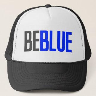 Casquette Soyez bleu