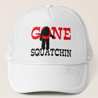 Casquette Squatchin allé Bigfoot emprisonné