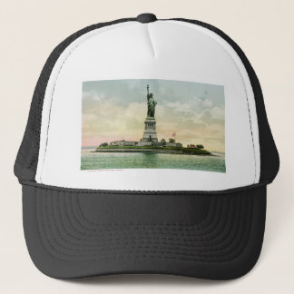 """Casquette """"Statue affiche vintage de liberté"""". New York."""