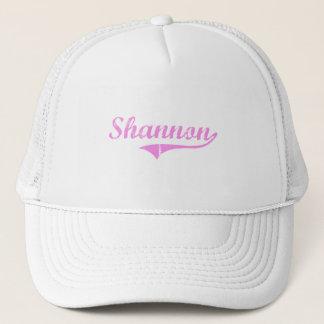Casquette Style de classique de nom de famille de Shannon